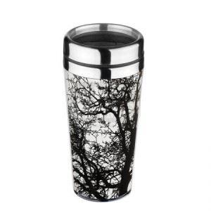 Термо чаша Lancaster Дърво бяло