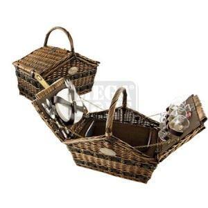Кошница за пикник Lancaster 45 х 40 х 30 см за четирима