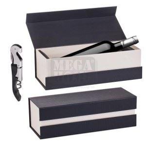 Кутия за 1 бутилка и тирбушон Lancaster