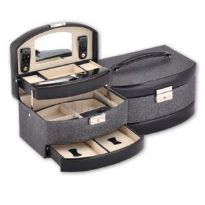 Кутия за бижута Black&silver New Wish Studio
