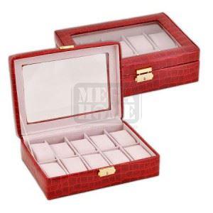 Кутия за часовници червена New Wish Studio