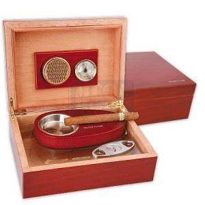 Кутия за пури SILVER FLAME червена