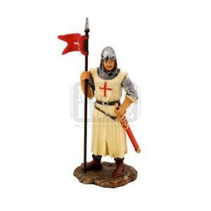 Статуетка Кръстоносец със знаме Veronese 5 х 3 х 13.5 см