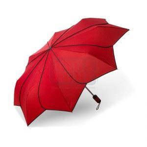 Дамски чадър Pierre Cardin червен