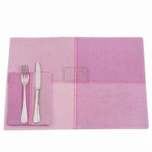 Комплект подложки за маса лилав 12 части