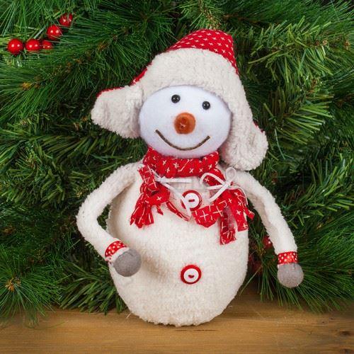 Коледна играчка снежно човече
