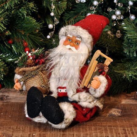 Дядо Коледа музикален 25 см