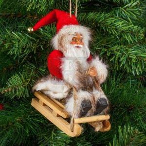 Дядо Коледа 13 см