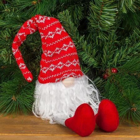 Декоративна фигура Коледен Елф 46 см