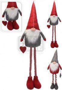 Коледен гном с телескопични крака 160 см