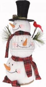 Коледен снежен човек 49 см
