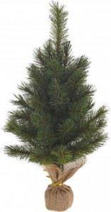 Коледна реалистична изкуствена елха 45 см