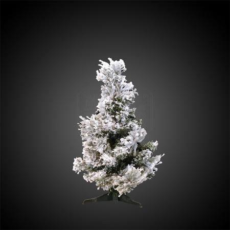 Коледна елхичка сняг 45 см