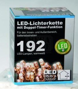 Коледни LED лампички с батерии и 9 функции 14.90 м