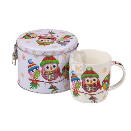 Детски комплект Бухалче MUG класик 890501A