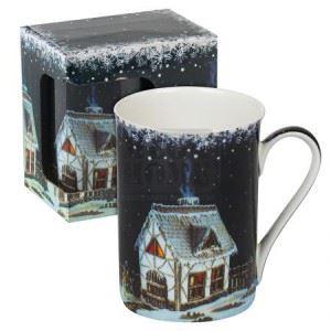 Порцеланова чаша Къща сладкиш MUG класик