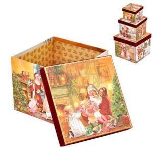 Коледни кутии 3 броя