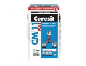 Лепило за плочки Ceresit СМ-11 Plus 25кг