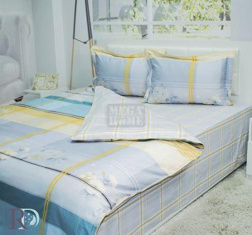 Спален Комплект от Памучен Сатен Афая