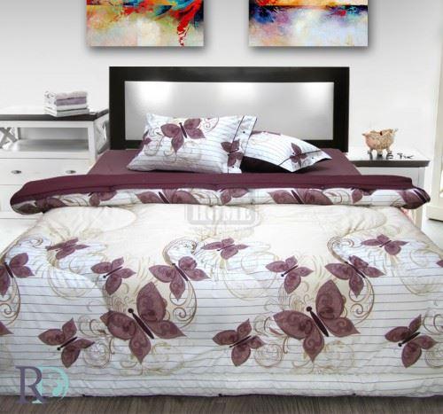 Спален Комплект Памук Пеперуди със завивка