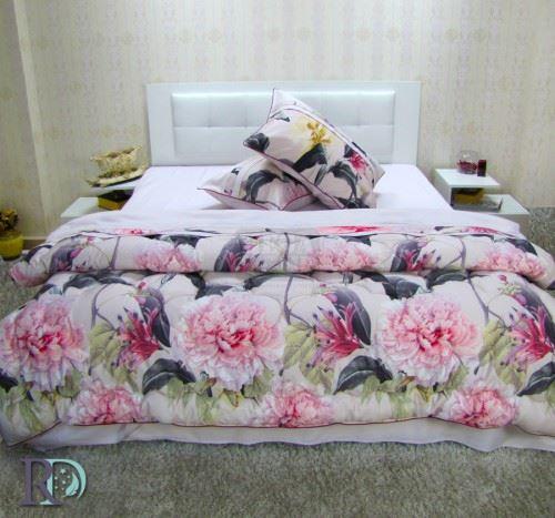 Спален Комплект Памучен Сатен Леонарда със завивка