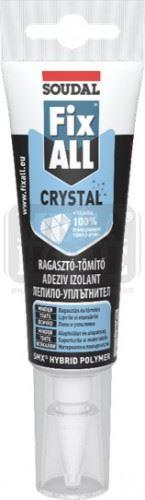 Лепила полимерни опаковка – Фикс Ол 125 мл. Soudal