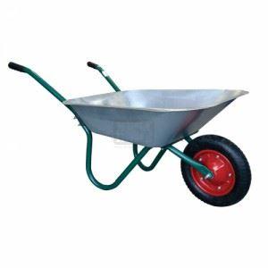 Ръчна количка 80л с надуваемо колело