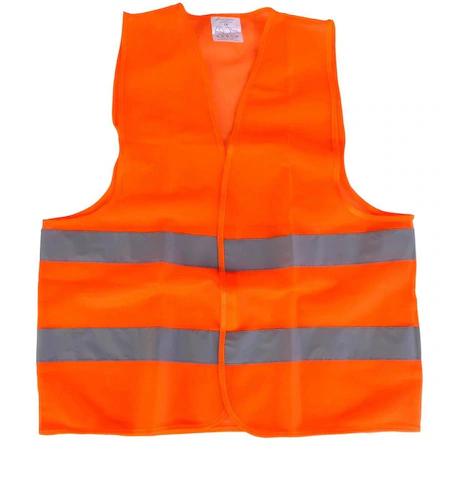Светлоотразителна жилетка оранжева