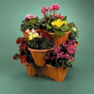 Саксия за цветя Трио
