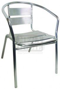 Градински алуминиев стол DeHome