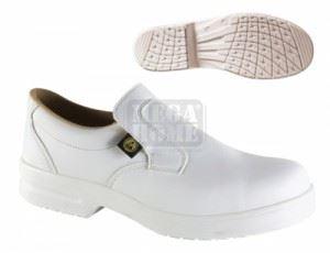 Защитни обувки ESD Caiman S1 бяло