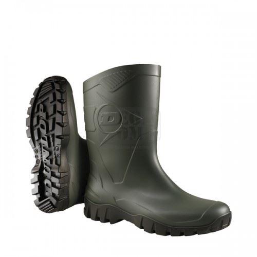Гумени ботуши DEE къси Dunlop тъмно зелен