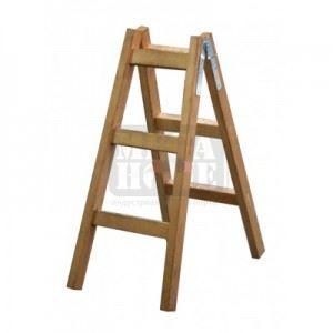 Дървена стълба дървена 130 см Premium