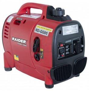 Бензинов генератор за ток 1kW Raider RD-GG05