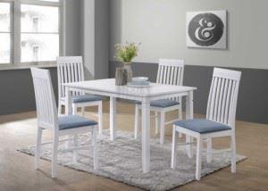 Трапезна маса с 4 стола BENKLIS 120 х 75 х 74 см