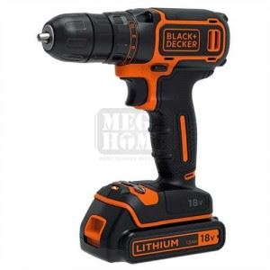 Акумулаторна бормашина BDCDC18B с 2 батерии Black&Decker