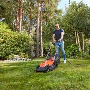 Електрическа косачка за трева 1200 W Black&Decker BEMW451