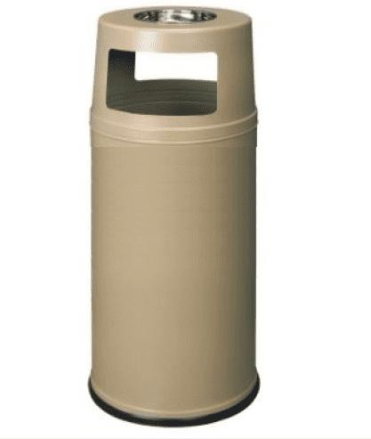 Метален кош с пепелник 90 л