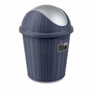 Кош за смет с въртящ капак Elegance Тъмносин 10 L