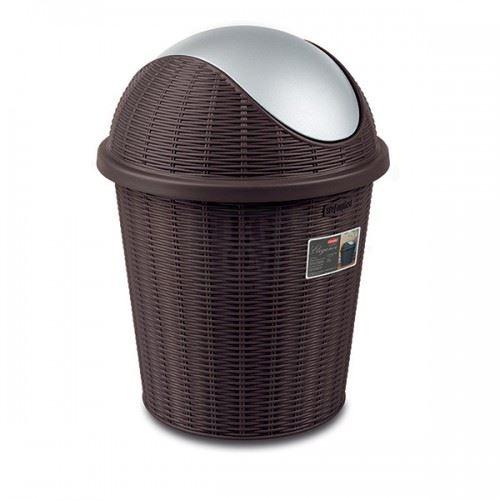Кош за смет с въртящ капак Elegance Moka 10 L