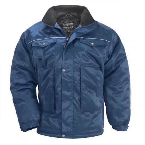 Яке зимно на Coverguard, модел BEAVER, размер XXL, цвят син