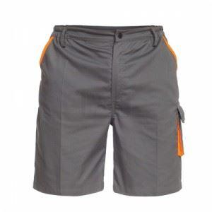 Работни къси панталони в сиво B-Wolf