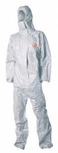Защитен гащеризон в бяло TYCHEM F
