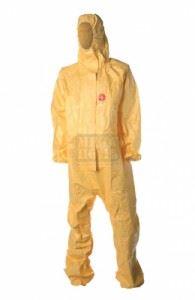 Защитен гащеризон в жълто TYCHEM C