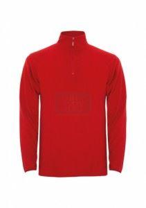 Поларена блуза DIKE червен