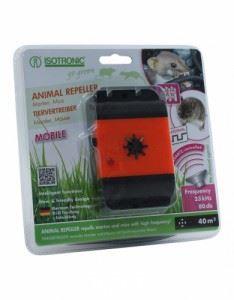 Мобилен уред с ултразвук против златки, белки, съсели и мишки