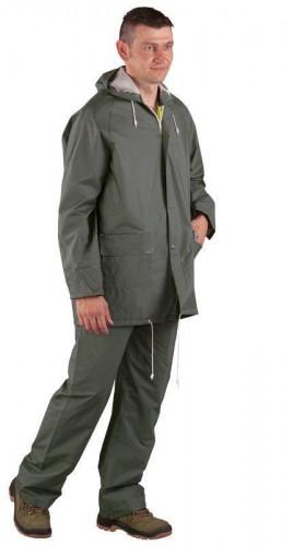 Дъждобран от PVC на Coverguard, костюм размер XXXL, зелен