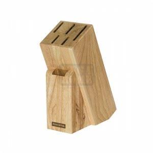 Дървен блок Tescoma 5 ножа и ножица
