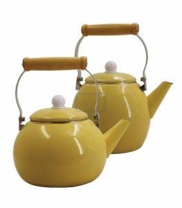 Комплект емайлирани чайници Елеком 2,5 и 3 л