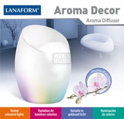 Лампа за арома и свето терапия Aroma Decor Lanaform